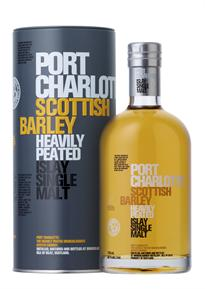 Port Charlotte Scotch Single Malt Scottish Barley Heavily...